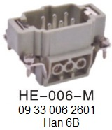 HE-006-M-16A-500V-6pin-male-screw-terminal 09 33 006 2601 Han 6B OUKERUI-SMICO-Harting-Heavy-duty-connector.jpg