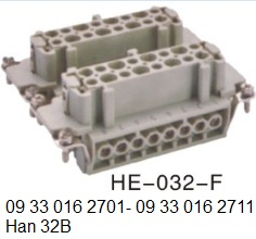 HE-032-F Han 32B 16A-500V-32pin-female-screw-terminal 09 33 016 2701 09 33 016 2711  OUKERUI-SMICO-Harting-Heavy-duty-connector.jpg
