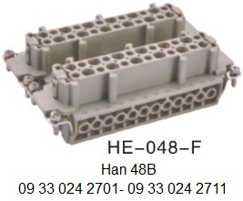 HE-048-F-16A-500V-48pin-female-screw-terminal 09 33 024 2701 with 09 33 024 2711 Han 48B OUKERUI-SMICO-Harting-Heavy-duty-connector.jpg